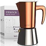 bonVIVO Intenca Espressokocher Induktion geeignet -...