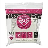 Hario VCF-02-100W Papierkaffeefilter, Weiß, Größe...