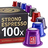 Starker Espresso Testbox: 100 Fairtrade Nespresso...