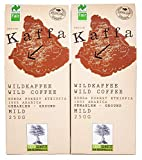 Original Food Kaffa Wildkaffee mild gemahlen 2er-Pack...