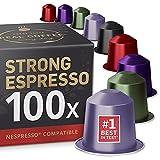 Starker Espresso Testbox mit 5 Sorten: 100 Fairtrade...