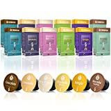 Gourmesso Flavour Box – 120 Nespresso kompatible...