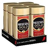 NESCAFÉ Gold Entkoffeiniert, löslicher Kaffee, 6er...