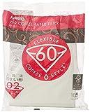 Hario VCF-01-100W Papierkaffeefilter, Weiß, Größe...
