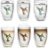 Creano doppelwandige Tee-Gläser, Cappuccino-Glas,...