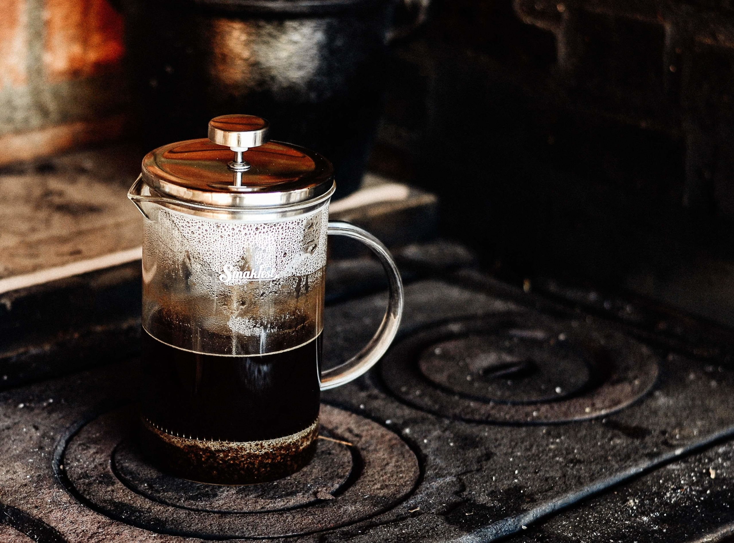 french press header